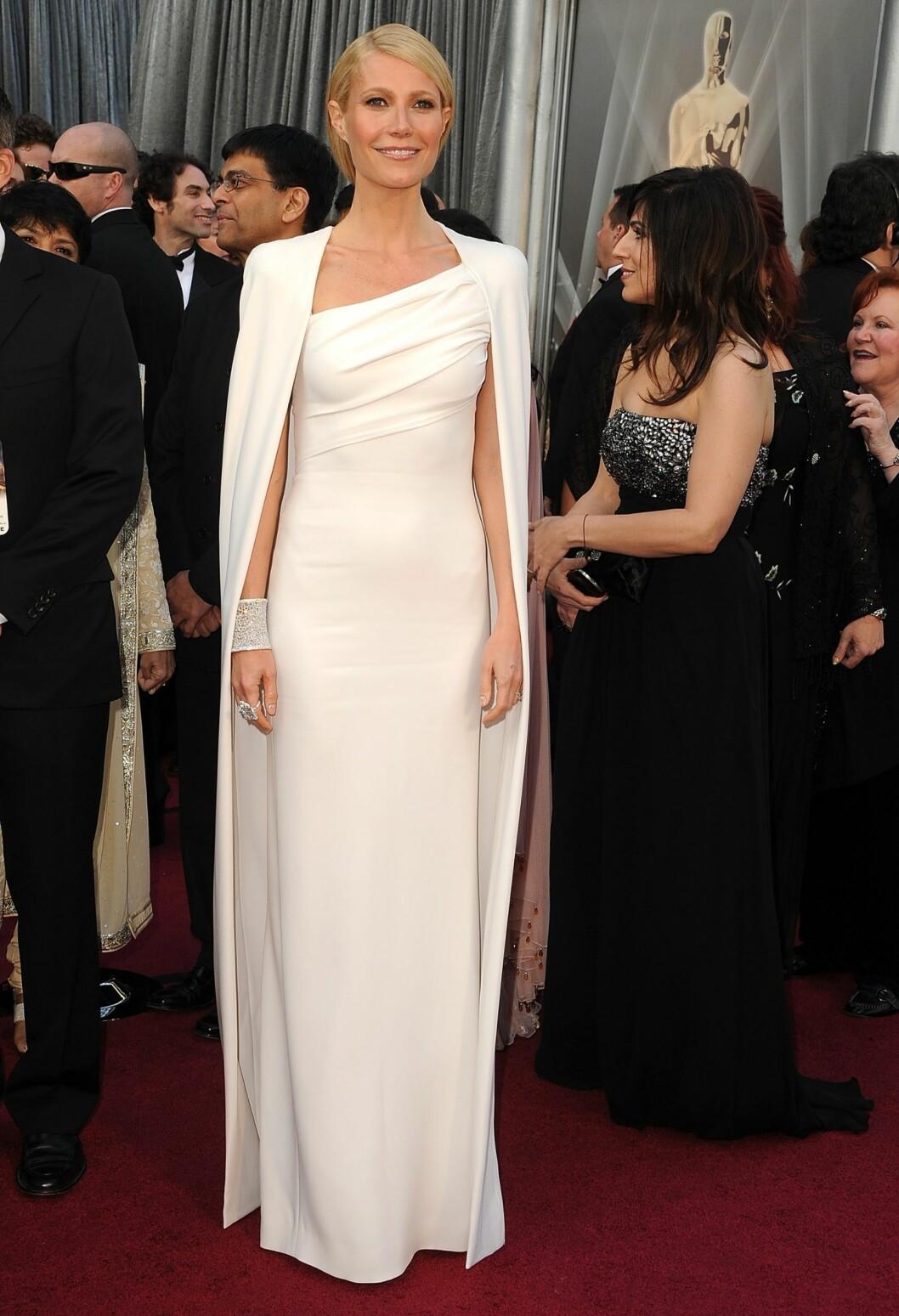 Gwyneth Paltrow i Tom Ford under Oskarutdelingen. Foto: All Over Press