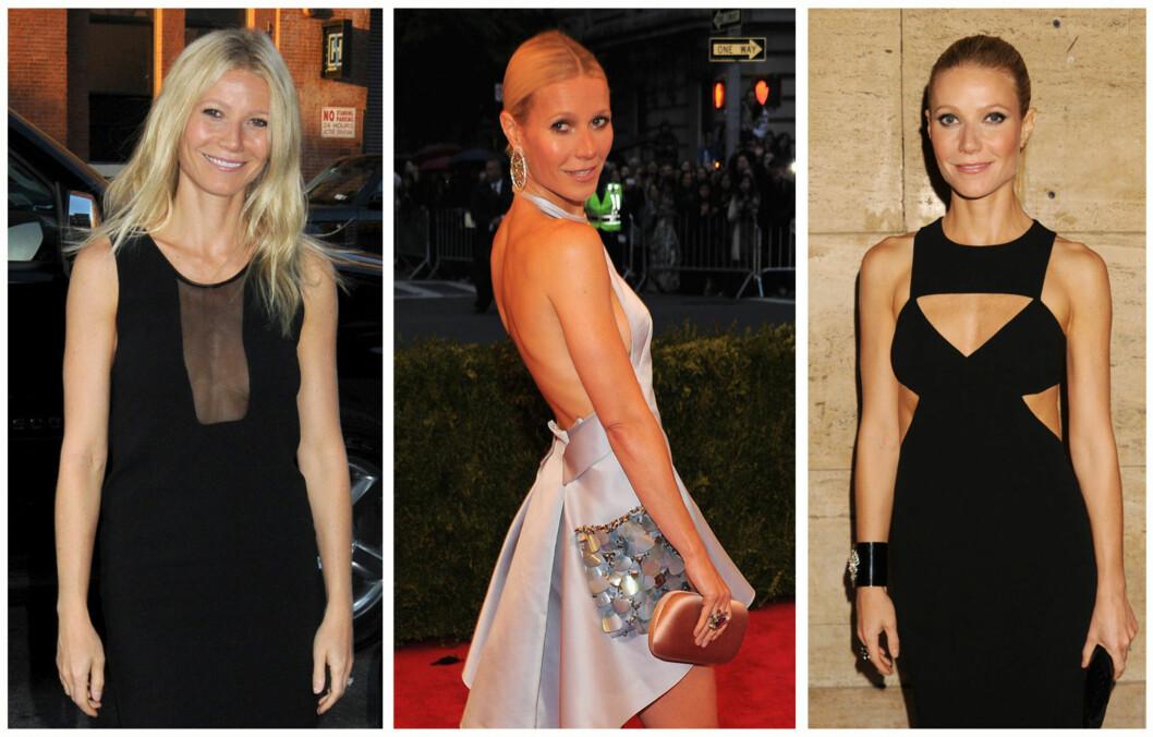 <strong>FLOTT:</strong> 40 år gamle Gwyneth holder seg utrolig godt.  Foto: All Over Press