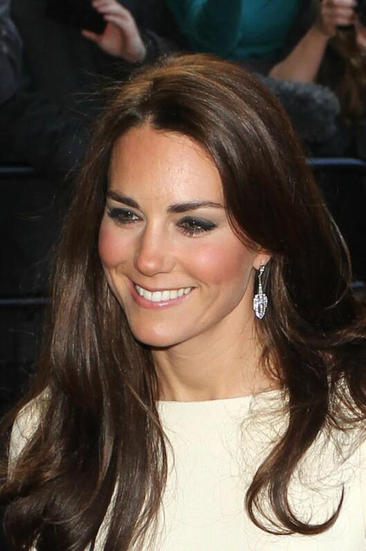 <strong>FORBILDE:</strong> Kate Middleton, hertuginnen av Cambridge, inspirerer mest.  Foto: All Over Press