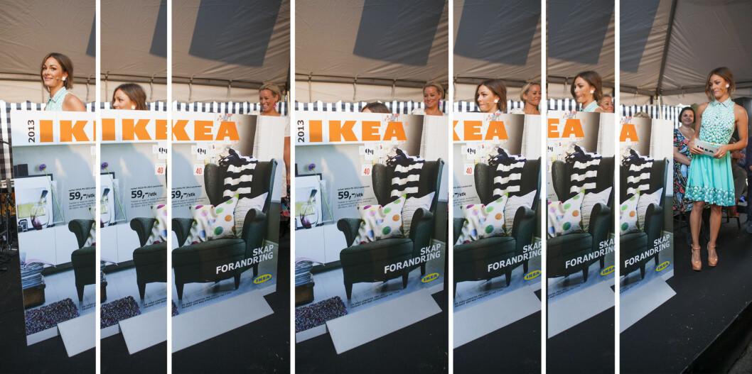 "<strong>TULLER:</strong> Ikea tar en liten tur ned ""trappen"" bak Ikea-katalogen.  Foto: Per Ervland"