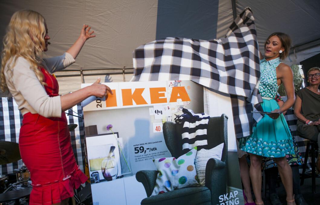 <strong>GODT NYTT IKEA-ÅR:</strong> Jenny Skavlan avduker Ikea-katalogen 2013. Foto: Per Ervland