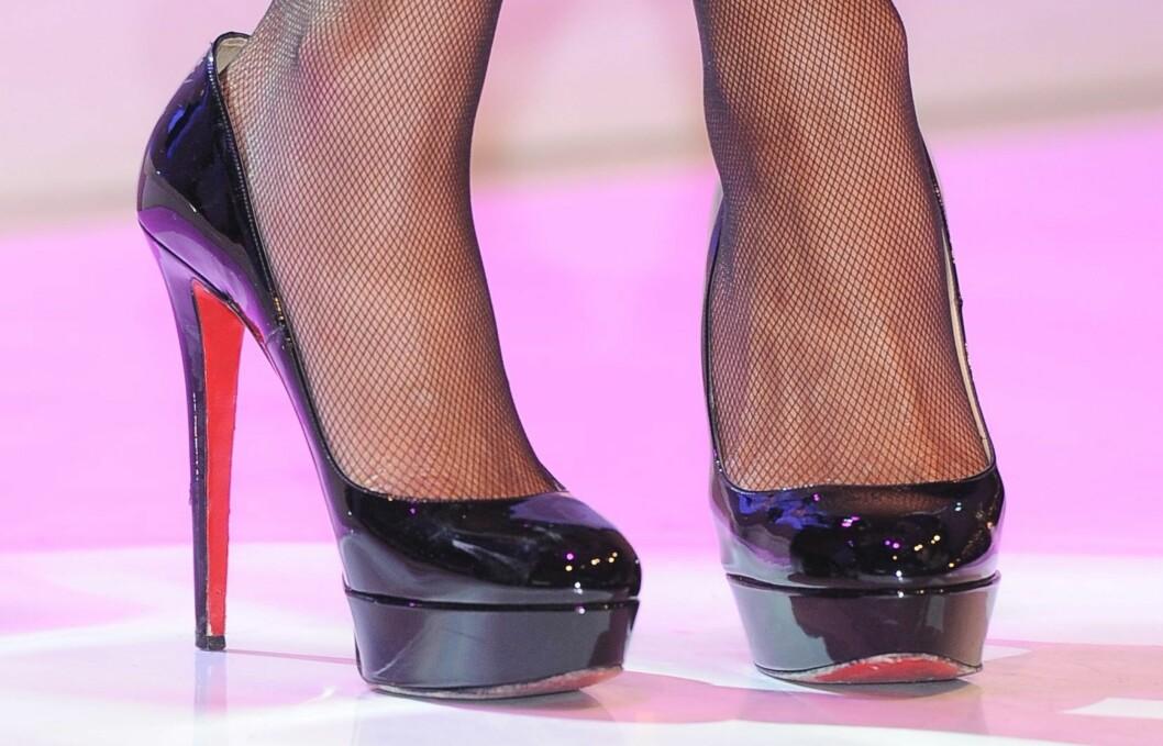 <strong>IKONISKE:</strong> Pumpsene med de røde sålene har blitt en klassiker som aldri går av moten. Foto: All Over Press