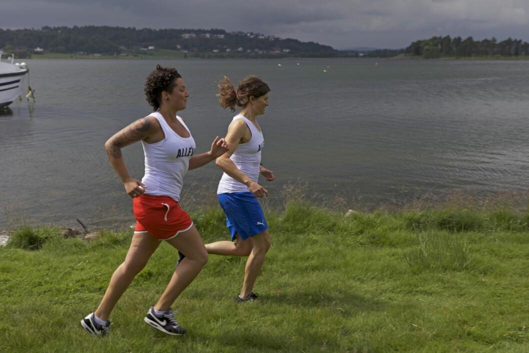 MER MOTIVASJON: Det å ta en liten joggetur på morgenen, enten det er alene, med et familiemedlem eller en venn, er en super start på dagen i ferien.
