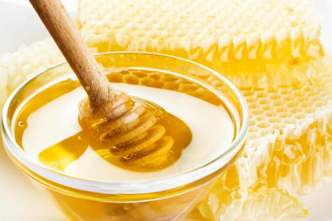 BRUK HONNING: Honning er veldig effektivt mot myggstikk, og de fleste har dette stående i skapet.  Foto: Thinkstock.com