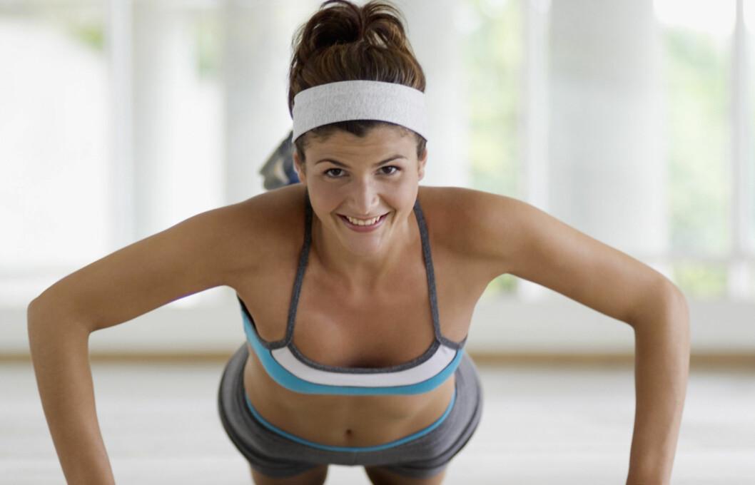 Personlig trener Jessica Smith mener man kan omtrent alle muskler i hele kroppen uten å sette foten innenfor et treningssenter (illustrasjonsfoto). Foto: Getty Images