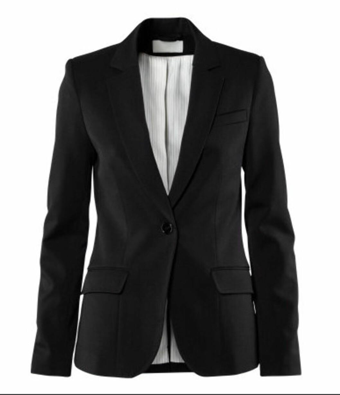 Innsvinget blazer (kr.399/H&M). Foto: Produsenten