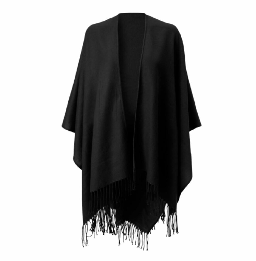 Poncho/sjal (kr.149/Gina Tricot). Foto: Produsenten