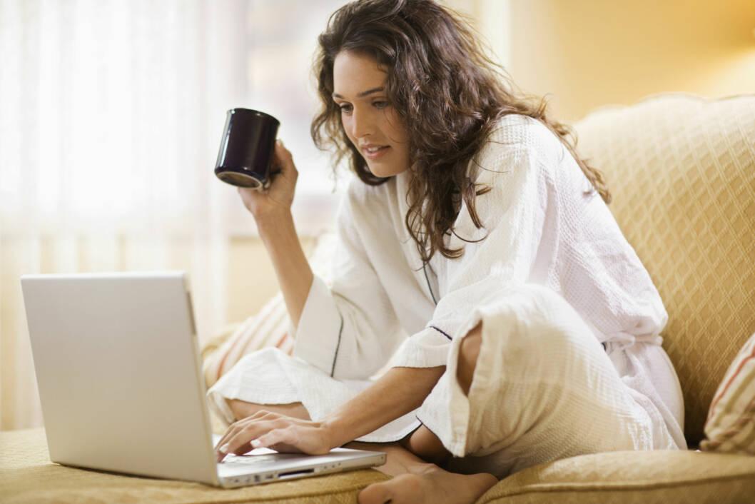 AVHENGIG AV MORGENKAFFE: Det er god grunn til å nyte den, men du bør ikke overdrive inntaket resten av dagen.  Foto: Thinkstock.com