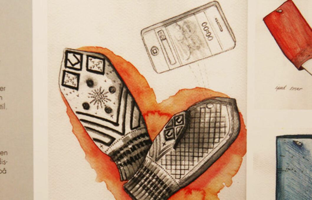 <strong>MODERNE TRADISJON:</strong> Designerduoen L&Js bidrag til designkonkurransen som skal ta tilbake den norske tekstiltradisjonen. Foto: Per Ervland