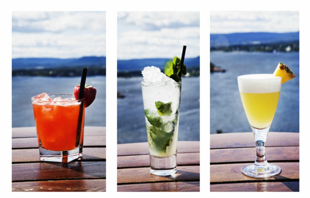 SUPERGODE DRINKER: Verdensmester i bartending fra 2002, Adam MacDonald, deler sine oppskrifter på fem knallgode drinker i denne saken.  Foto: Barstars.no/Liquid Engineers