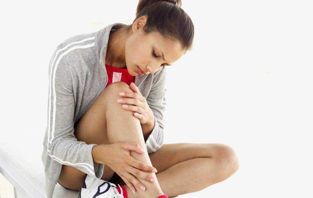 PASS PÅ: Smerter under trening kan faktisk være et tegn på en skade. Og dersom smerten vedvarer bør du ta en treningspause og eventuelt oppsøke lege, ellers kan skaden forverres.  Foto: Getty Images