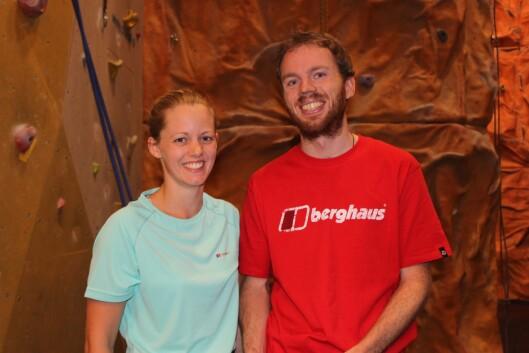<strong>INSTRUKTØRENE:</strong> Øystein Thorvaldsen og Christine Maass er klatreinstruktører på Klatreverket i Oslo. Øystein har klatret i over ti år, mens Christine har holdt på i to år.