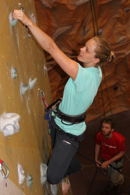 <strong>FOR ALLE:</strong> Ifølge klatreinstruktøreneer klatring en idrett som passer alle.  Foto: Colourbox
