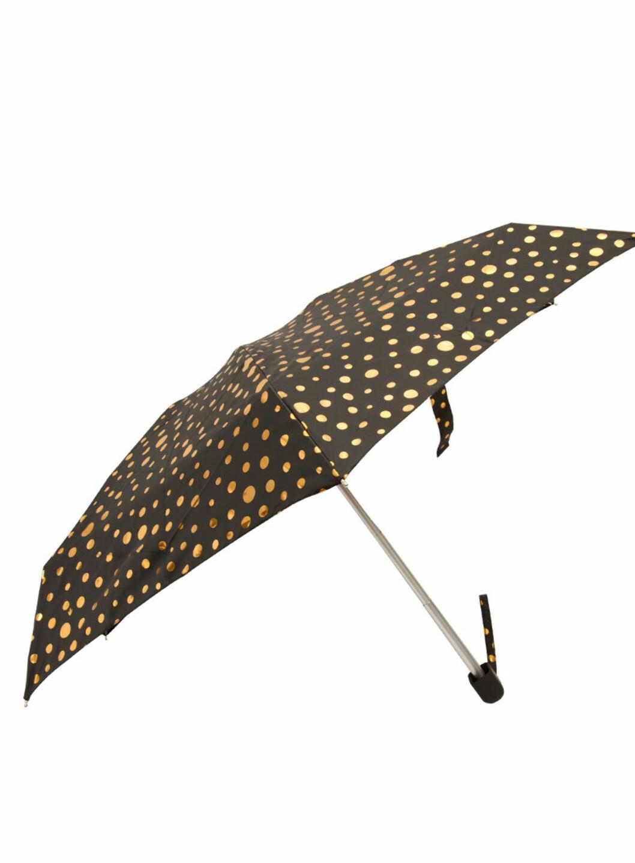 Gullspettet paraply (ca kr.90/asos.com). Foto: Produsenten