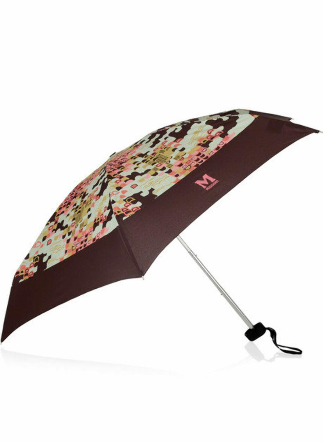 Missoni-paraply til 50 prosent (ca kr.265/theoutnet.com). Foto: Produsenten