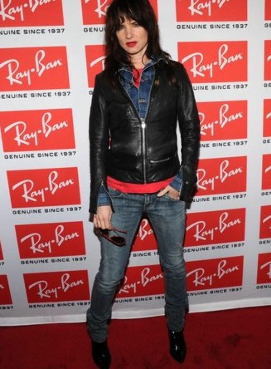 Juliette Lewis kjører en rocka stil. Foto: All Over Press