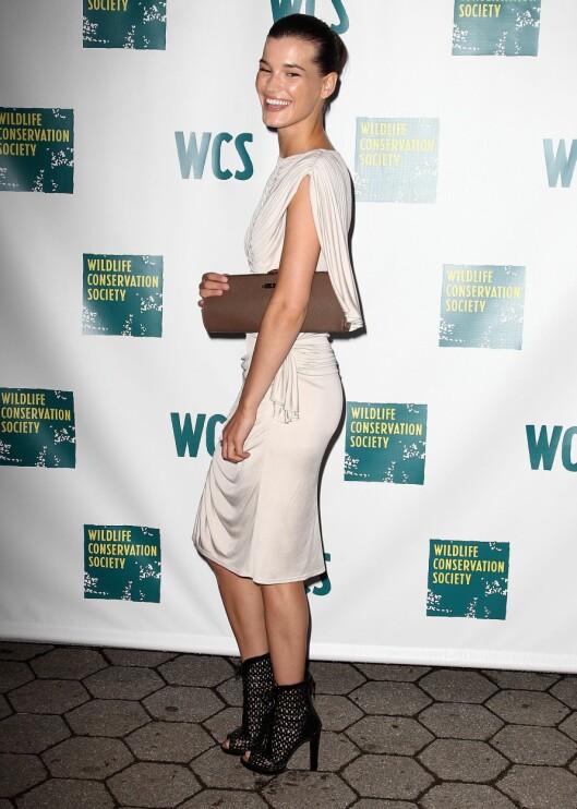 Hanneli Mustaparta på  2010 Wildlife Conservation Society Gala i NYC. Foto: All Over Press