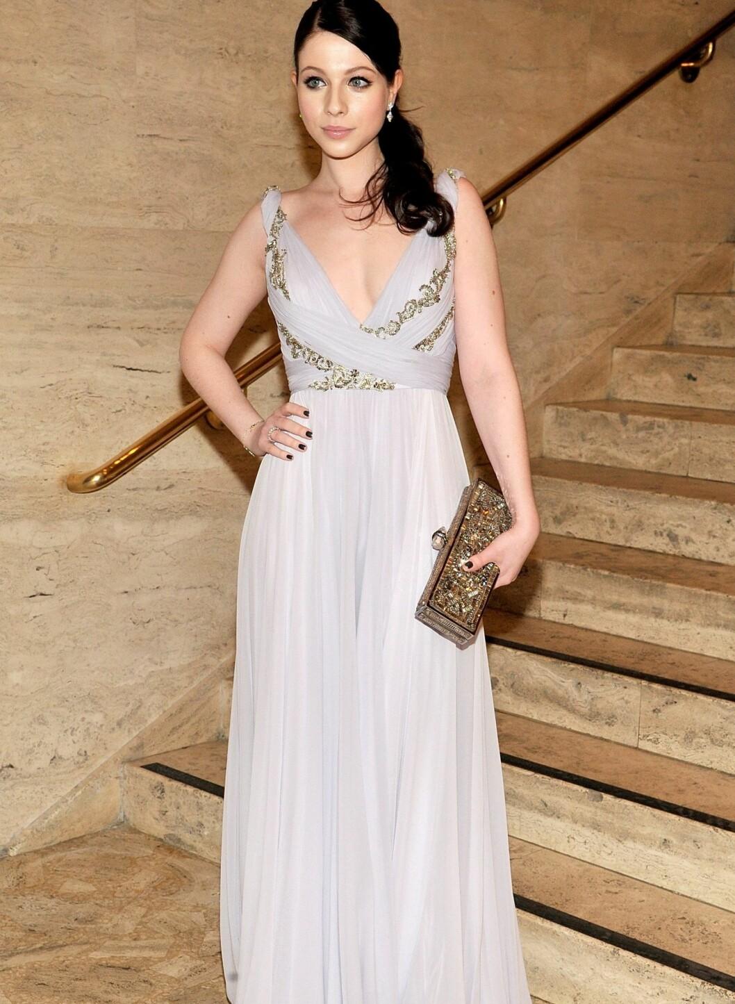 Michelle Trachtenberg på 2011 School of American Ballet Winter Ball i NYC. Foto: All Over Press