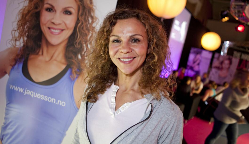 TRIMDRONNING: Kari Jaquesson var selvskreven gjest på The Nike Blast i helgen. Foto: Per Ervland