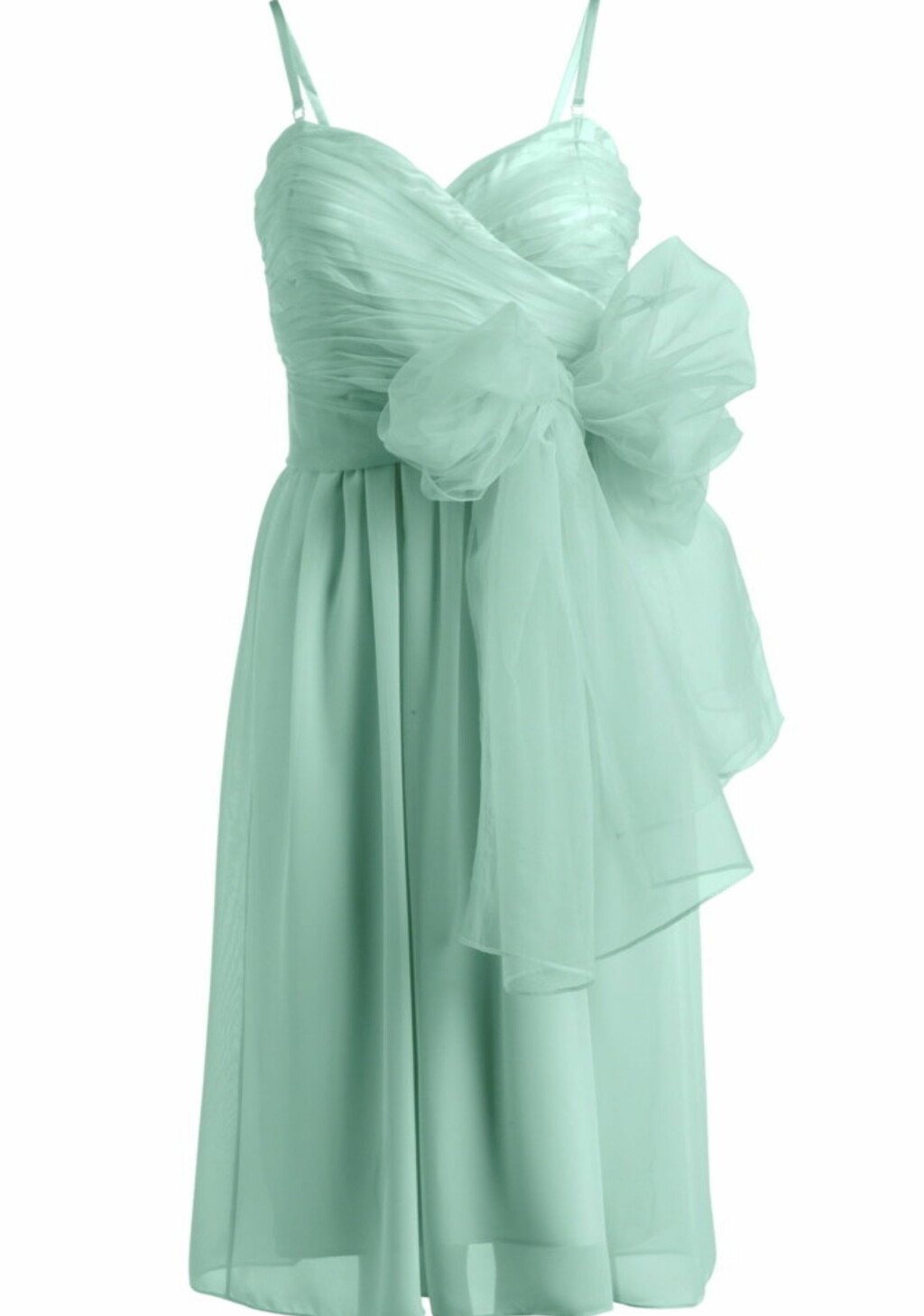 kjole som kan knytes forskjellig