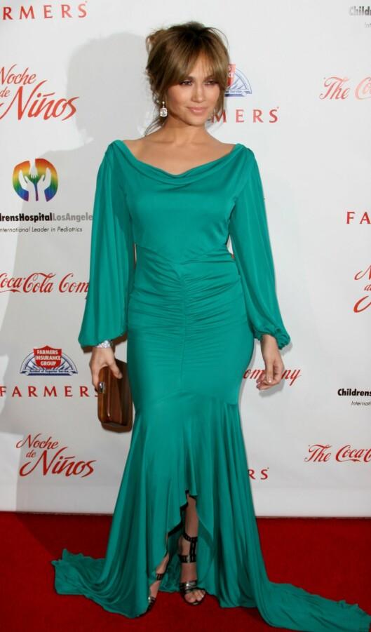 PÆRE: Smellvakre Jennifer Lopez er kjent for sine flotte kvinnelige former.  Foto: All Over Press