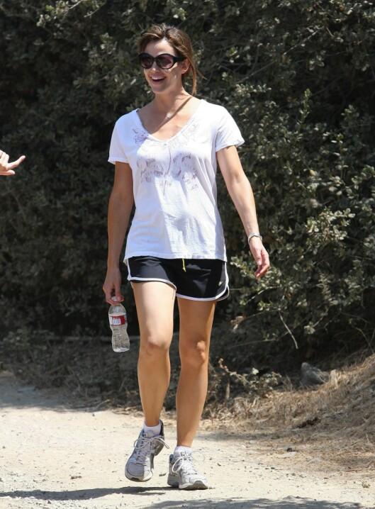 EPLE: Skuespiller Jennifer Garner er mer atletisk bygd.  Foto: All Over Press