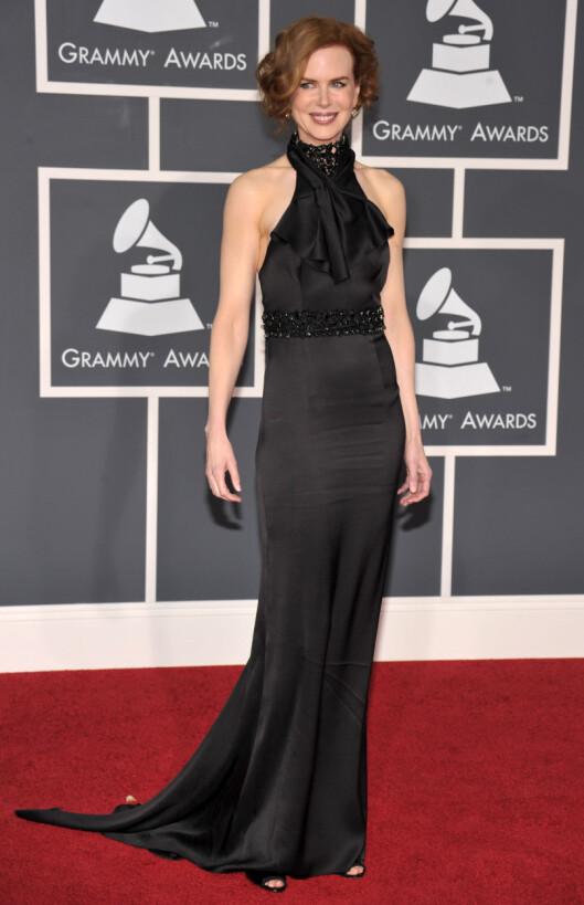 SMAL/GUTTEFASONG: Skuespiller og tidligere Oscar-vinner Nicole Kidman har en lang og smal figur.  Foto: All Over Press