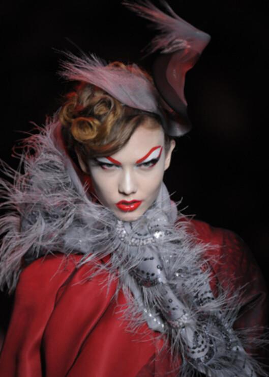 Christian Dior Haute Couture, vår- og sommer 2011.  Foto: All Over PressAll Over Press