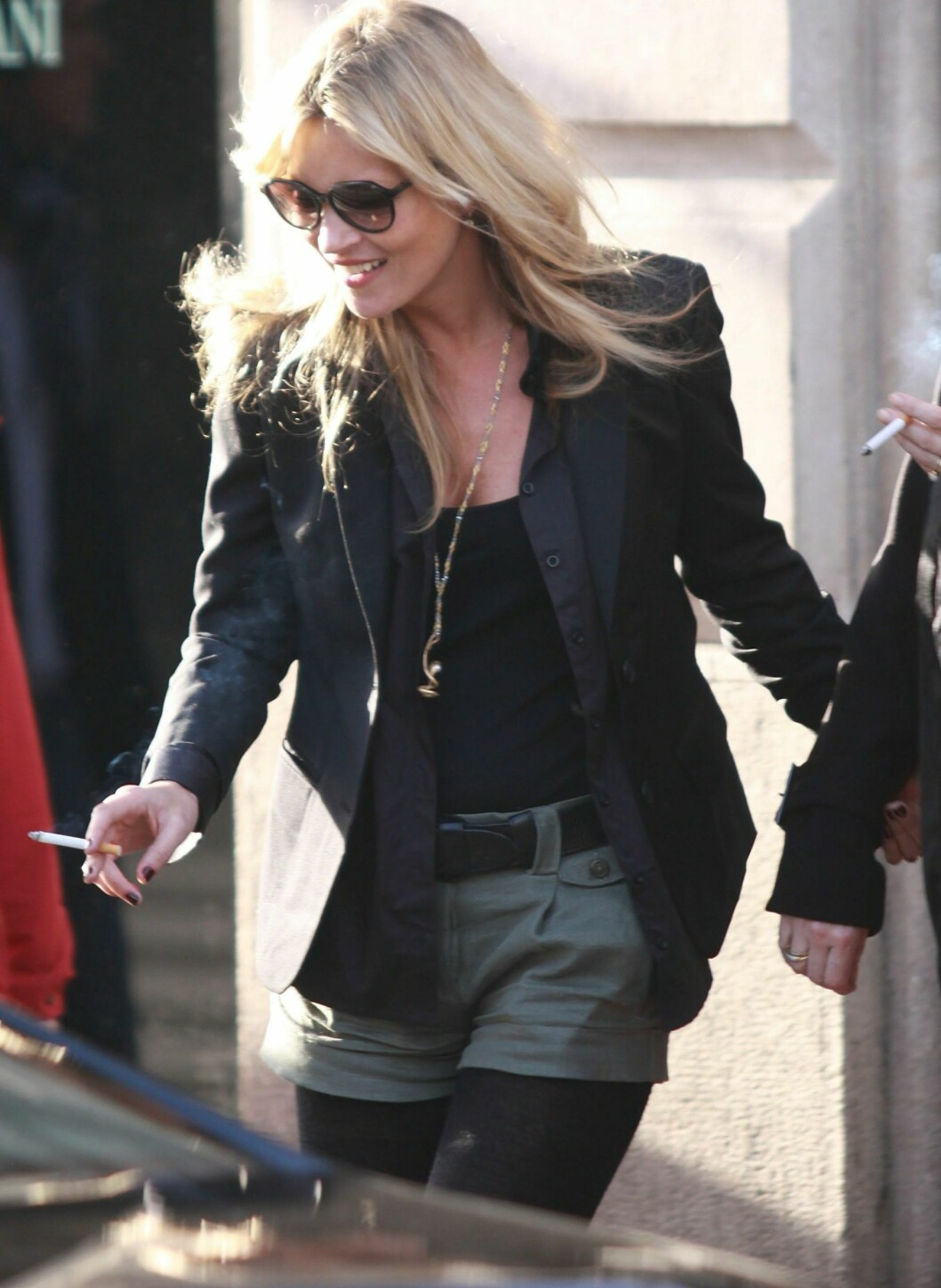 PARIS, FRANCE - JANUARY 15:  Kate Moss sighted  in Saint Germain des Pres on January 15, 2011 in Paris, France.  (Photo by Marc Piasecki/Getty Images) By: All Over Press / Getty Images CODE: GE01X8 Foto: All Over Press