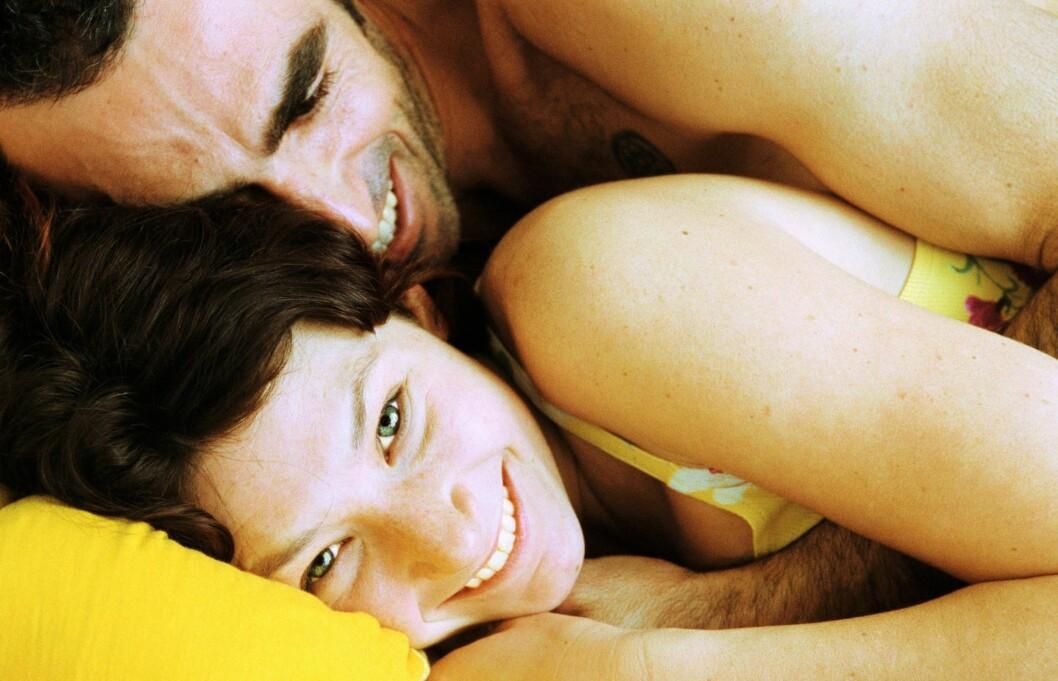 Ok - noen flaue episoder er det lov å ha, også i senga. Foto: Colourbox