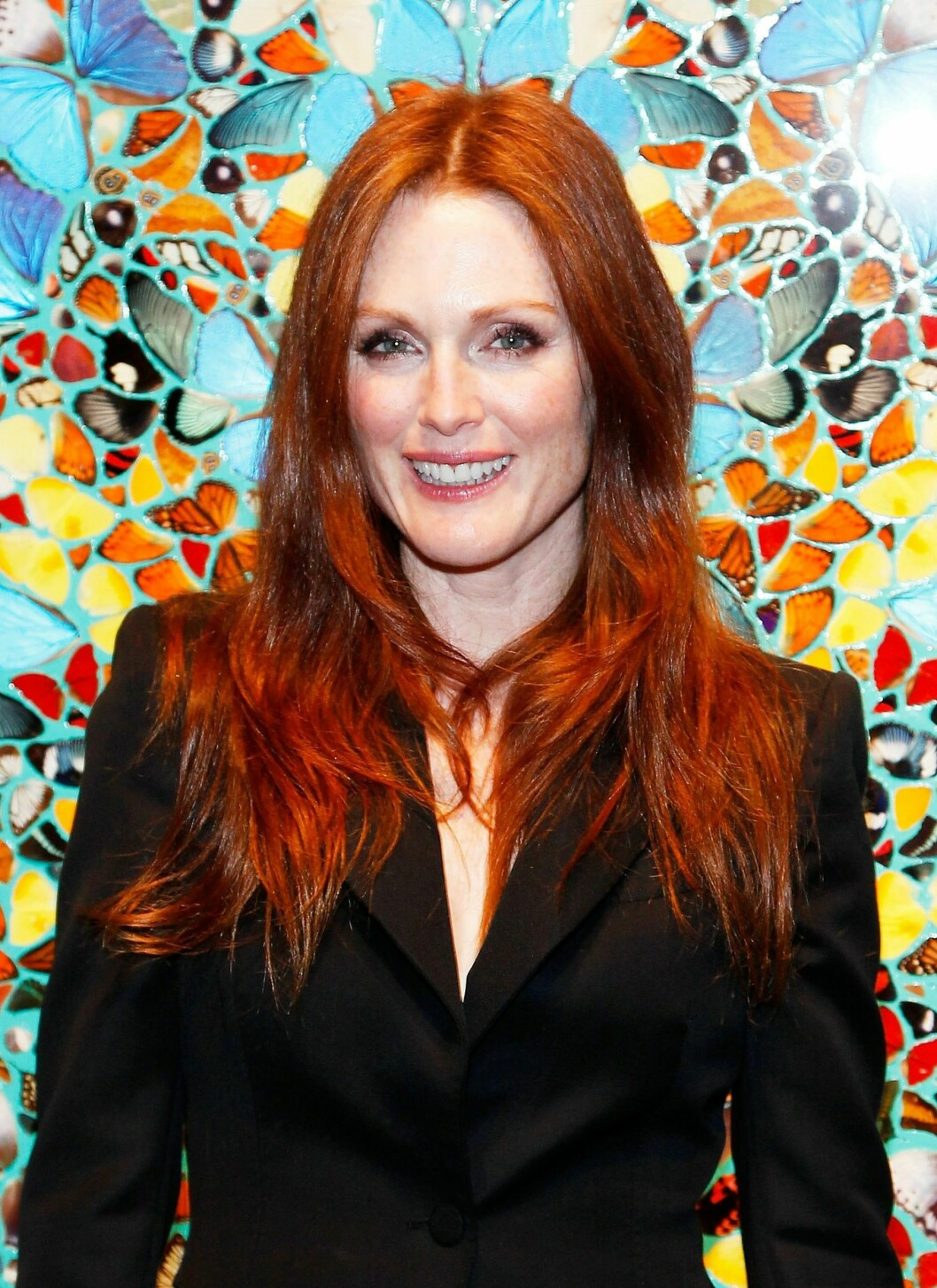 Intensiteten på det røde håret varierer, men vippene holdes alltid mørke.  Foto: All Over Press
