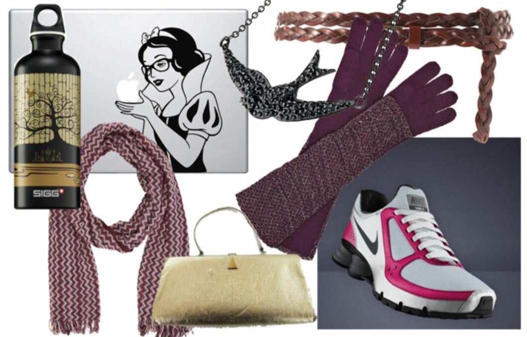 GAVEFORSLAG til både vintagedronnginga, geek chic-dama, den supertrendy, den sporty og luksusdyret finner du her. Foto: Produsentene