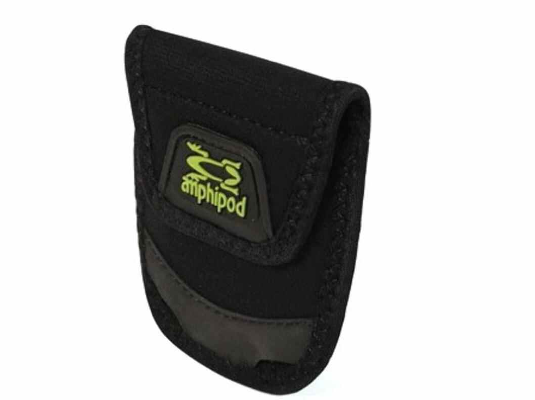Dette er en liten lomme som du kan feste på innsiden eller utsiden av treningstøyet med klips. Fås kjøpt på amphipod.com Foto: amphipod.com