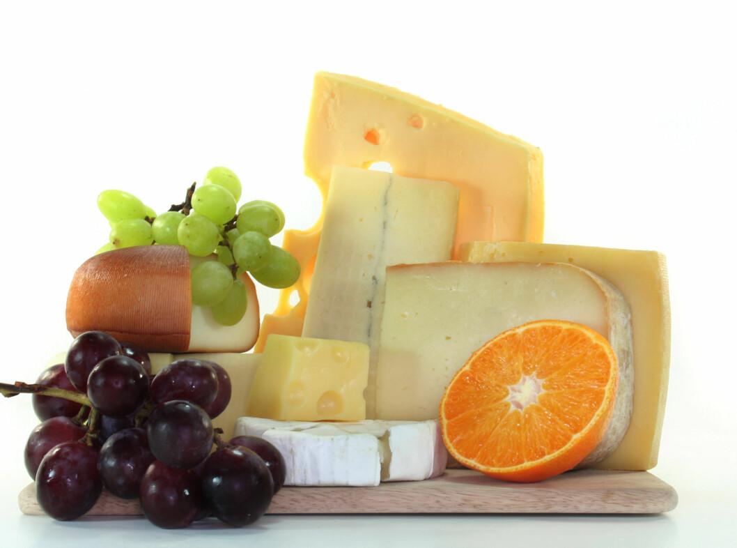 - Spis ost, men vær obs på mengden, råder kostekspert Ina Garthe.  Foto: Panther Media