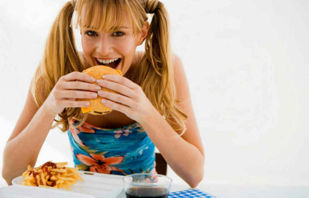 Mye mat gjør deg glad. Foto: Jupiter Images