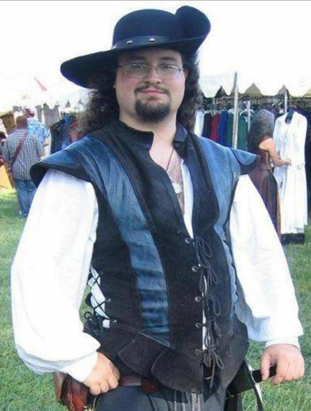 <strong>FORLOT RAMPELYSET:</strong> Josh Byrne spilte Brendan Lambert. Dette bildet er lånt fra hans MySpace-side. Foto:  Foto: Skjermdump MySpace