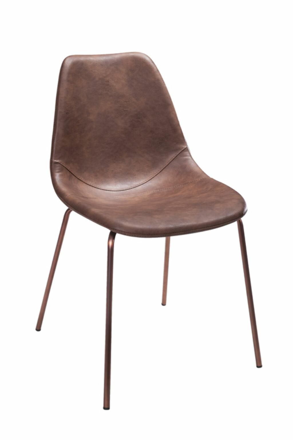 2-pk med stoler i skinnimitasjon fra Ellos | kr 2899
