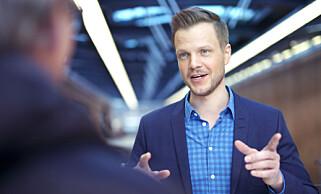 KAN IKKE LOVE EL-LEIEBIL: Kommunikasjonssjef for bærekraft i Storebrand, Harald Martens Holm. Foto: Storebrand