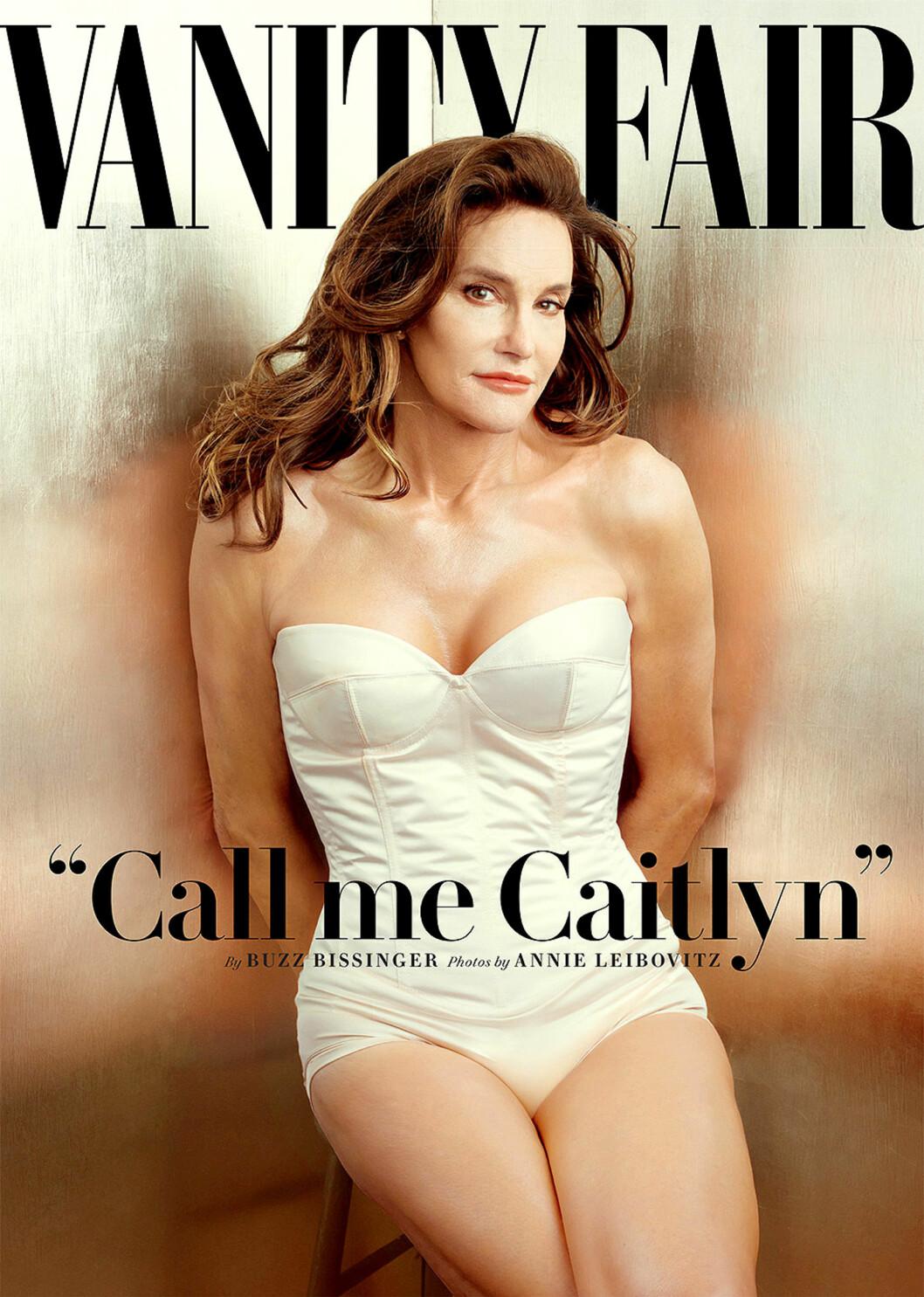 CALL ME CAITLYN: Etter å ha skjult sitt sanne jeg, kan endelig Jenner være seg selv.  Foto: Polaris
