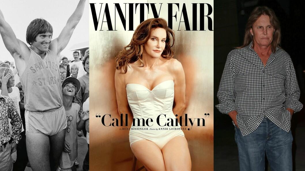 FRA BRUCE TIL CAITLYN: Jenner har gått gjennom store forandringer i livet sitt. Foto: Scanpix