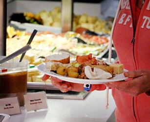 image: Fikk rester og dårlig buffetmat på all inclusive