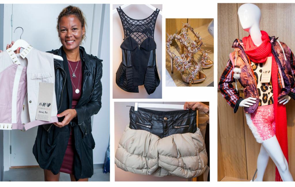 e80b2519 REDESIGNET H&M TØY: H&M Loves ESMOD Oslo er en kolleksjon laget av gammelt  H&M-