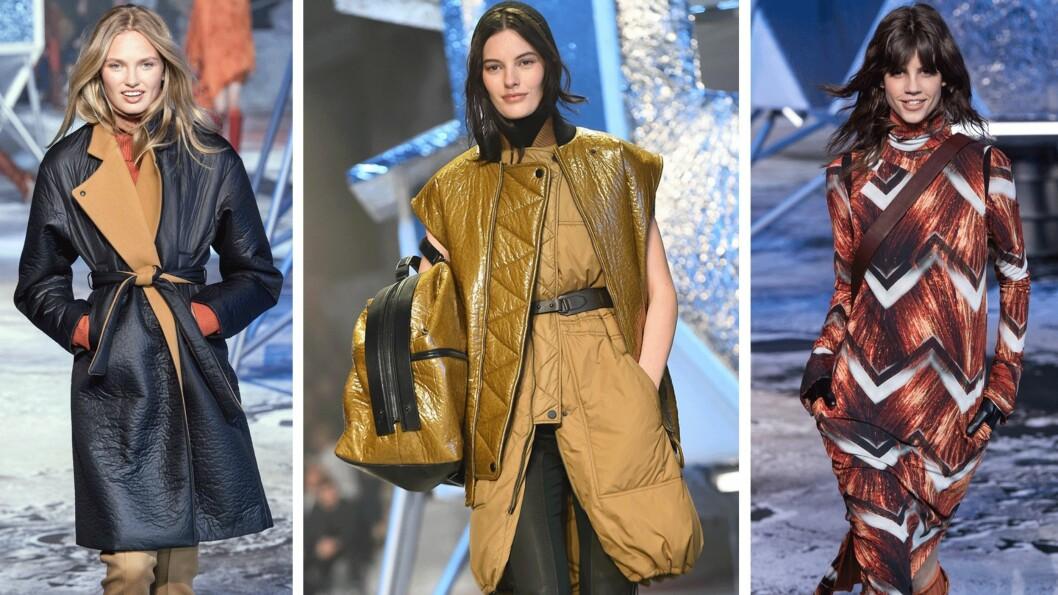 <strong>FRA CATWALKEN:</strong> Slik så det ut da H&M viste sin Studio-kolleksjoner under Fashion Week. Foto: Produsenten