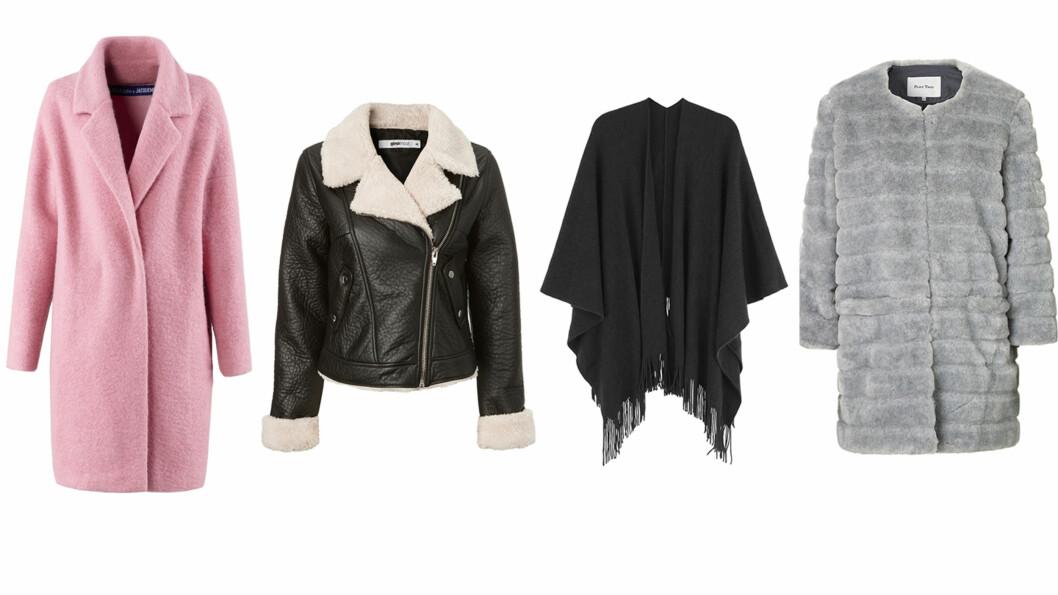NY JAKKE? Denne høsten finner du jakker som passer alle typer og fasonger. Foto: Produsenten