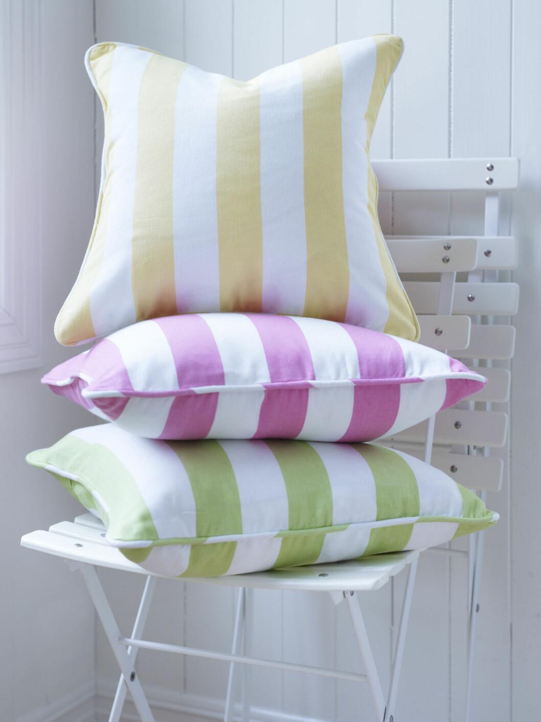 SUKKERSØTT: Stripete pastellputer fra Princess, kr 79 per stk.  Foto: Produsenten