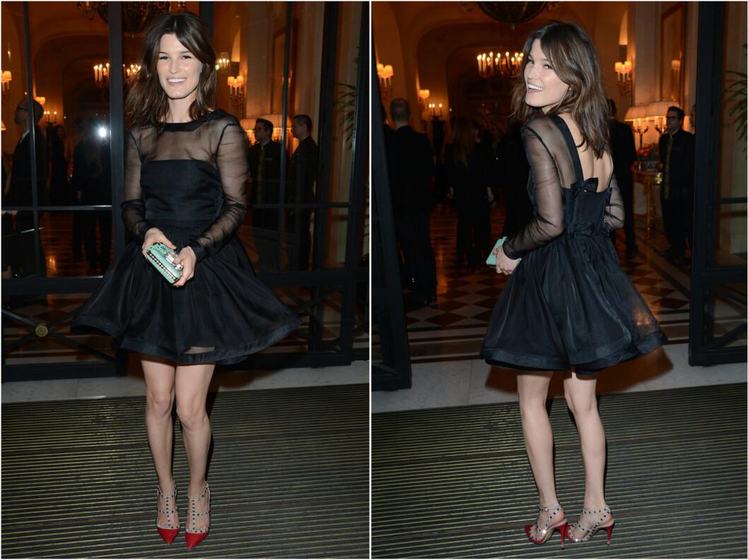NORSK GJEST: Moteblogger Hanneli Mustaparta deltok også på Roitfelds cocktail-party under Paris Fashion Week. Foto: All Over Press