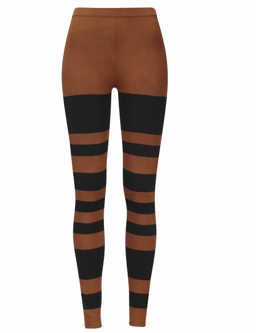 Leggings med horisontale striper (kr.199). Foto: Produsenten