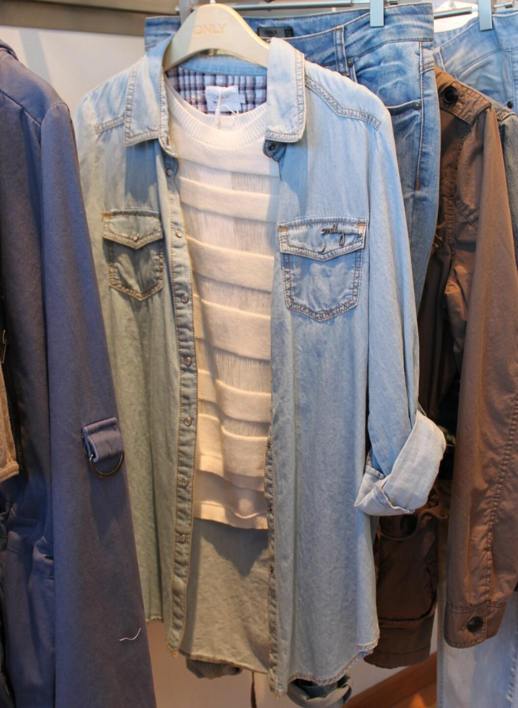 Nei, du blir ikke kvitt dongeriskjorta neste år heller. Foto: Aina Kristiansen