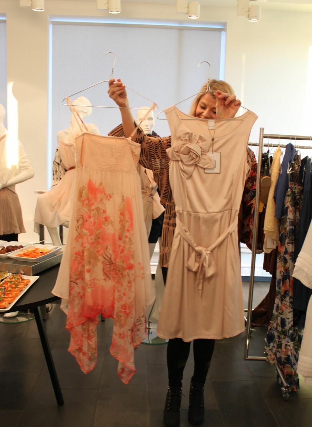 Men det finnes selvsagt kortere kjoler også, for deg som ønsker det. Foto: Aina Kristiansen