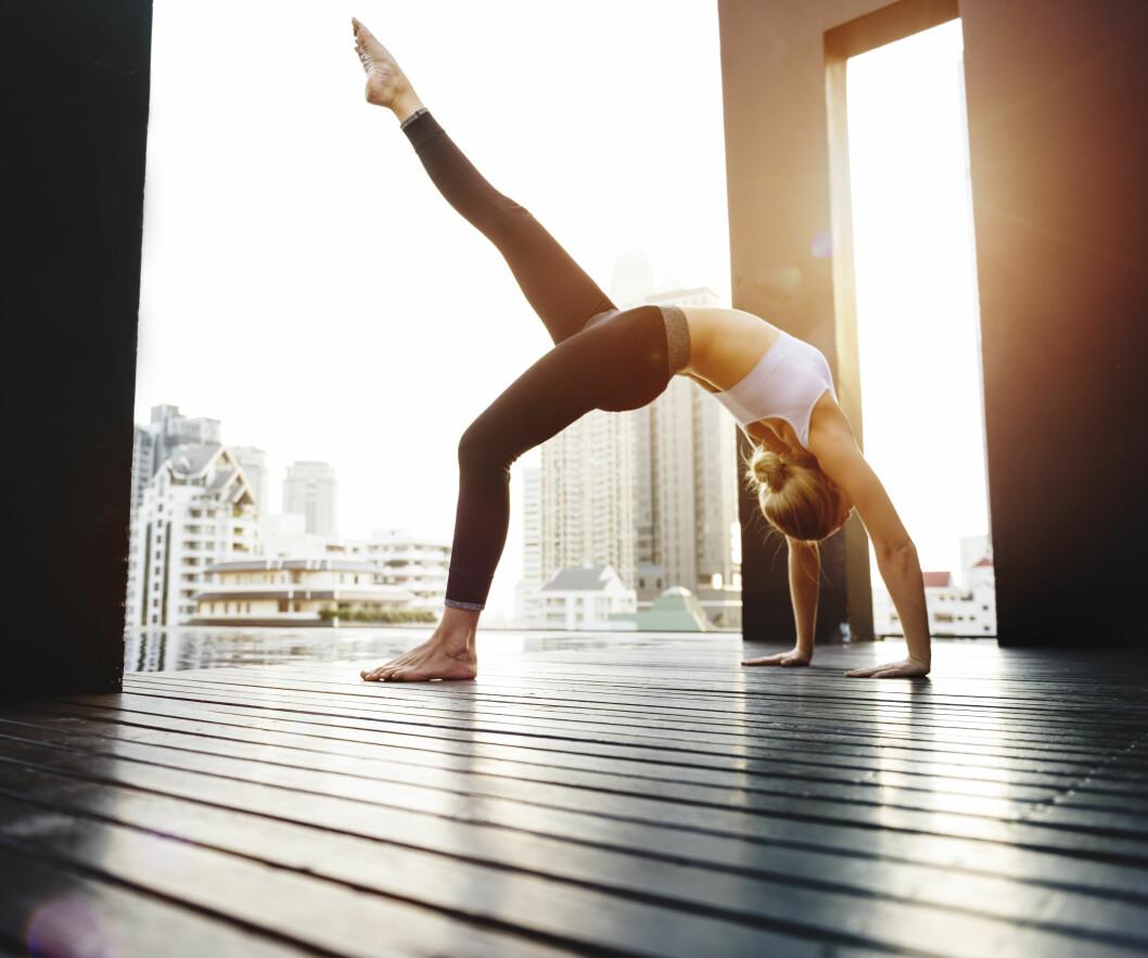 MENSENMYTER: Trening under menstrasjon er bare bra og overhodet ikke farlig. Løp maraton, stå på hodet eller ha sex.  Foto: NTB scanpix